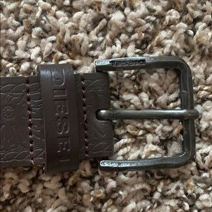 EUC Diesel leather Belt